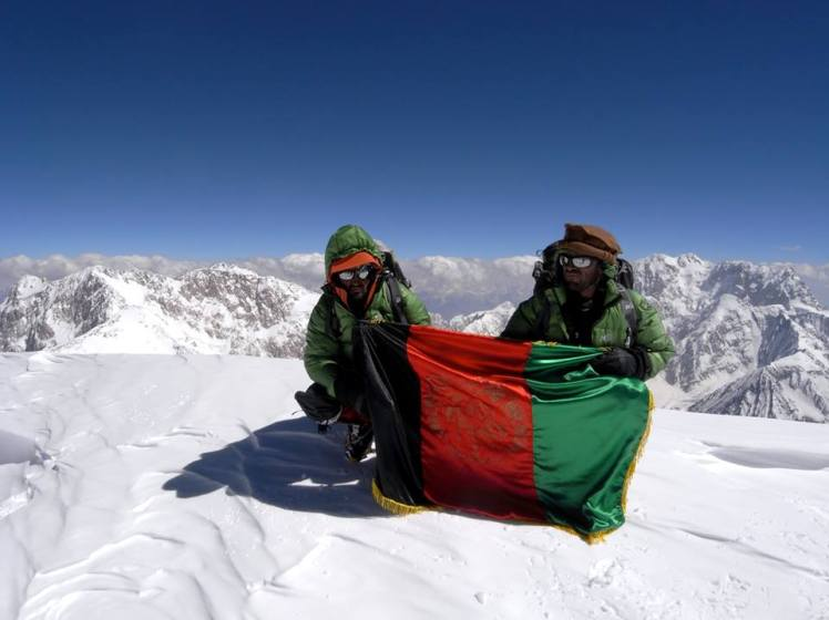 Afghanistan on the top